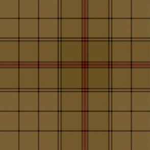 Ulster district tartan, peat - dark, 6""