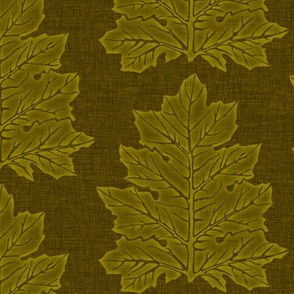 Acanthus Leaves - moss