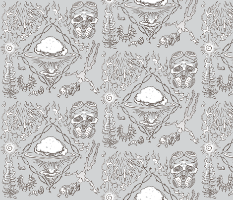grayday fabric by patreddingscanlon on Spoonflower - custom fabric