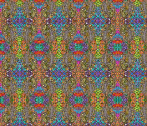 Kitty_Klimt__Kaleidoscope_photodraw_16x_4500 fabric by ciswee on Spoonflower - custom fabric