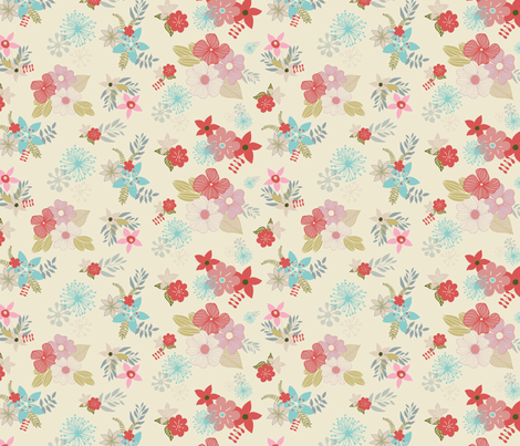 Summer Breeze fabric by michellegracedesign on Spoonflower - custom fabric