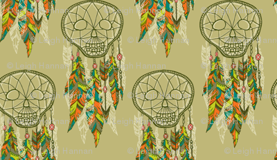 skelly dream catchers