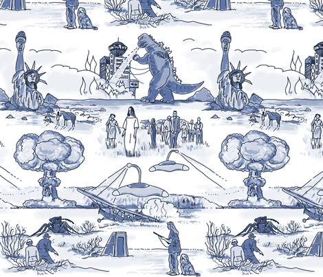 Cold War Apocalypse fabric by elramsay on Spoonflower - custom fabric