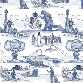 Cold War Apocalypse Toile