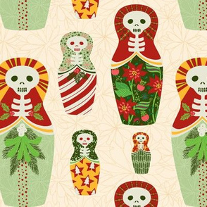 skelly nesting dolls