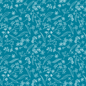 Gum Doodles Small Scale - Teal