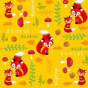 FREDDI FOX yellow