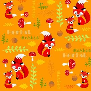 FREDDI FOX orange