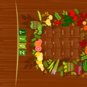2017 Farmers Market Calendar