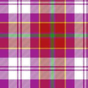 Culloden dress red district tartan
