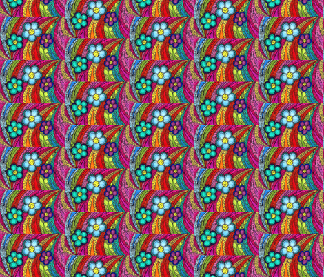 crazy flowers-2 fabric by smp-creations on Spoonflower - custom fabric