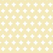 Cross Pattern Yellow