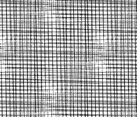 Grunge Grid Texture fabric by mrshervi on Spoonflower - custom fabric
