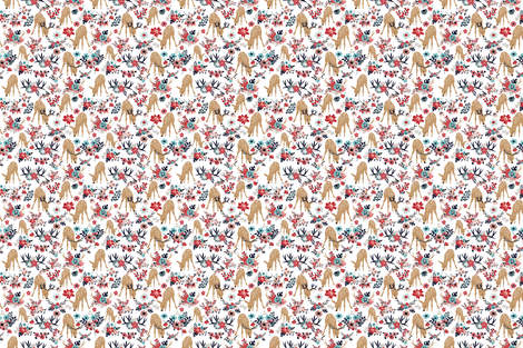Darling Deer 2 fabric by vieiragirl on Spoonflower - custom fabric