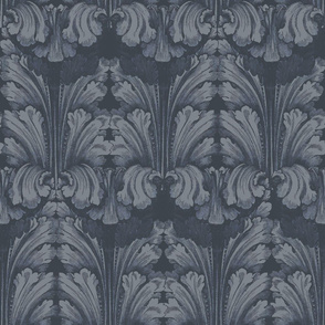 Classic Acanthus Leaves Grey
