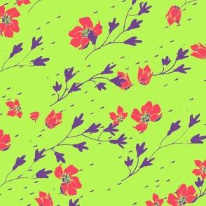 meow purple garden