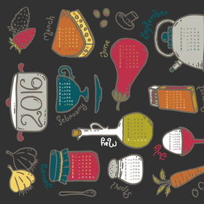 Kitchen Calendar 2016