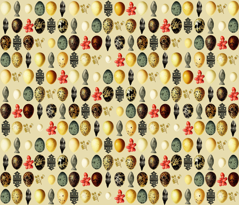 wunderkammer fabric by mongiesama on Spoonflower - custom fabric