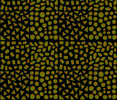 olives2 fabric by brucedunlap on Spoonflower - custom fabric