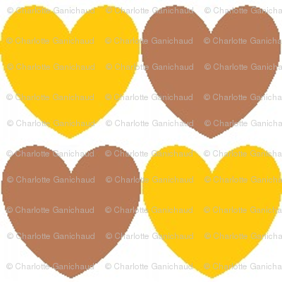 hearts_brown_and_mustard