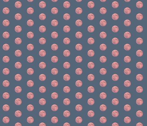 ManyMoons_2inchMoon_PolkaDots fabric by perrastudios on Spoonflower - custom fabric