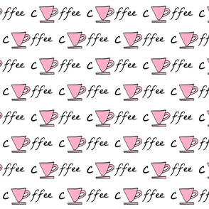 Cup of coffee - pink