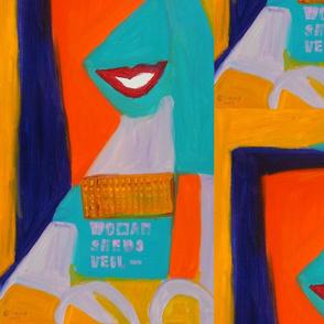 Woman_sheds_veilCopyrightKaung_-_sold