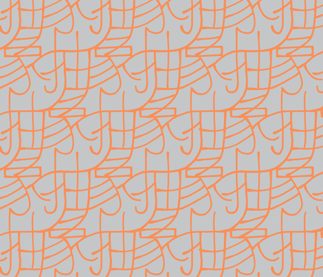 abstract - citrus fabric by mongiesama on Spoonflower - custom fabric