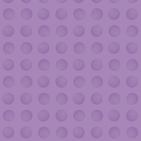 Purple Moons fabric by anniedeb on Spoonflower - custom fabric