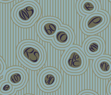 Zen of knitting - cool fabric by mongiesama on Spoonflower - custom fabric