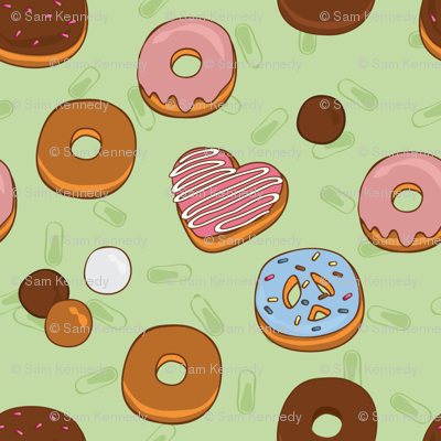 Love, Peace & Donuts