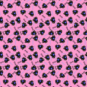 amoebas_and_DNA_pink_simple