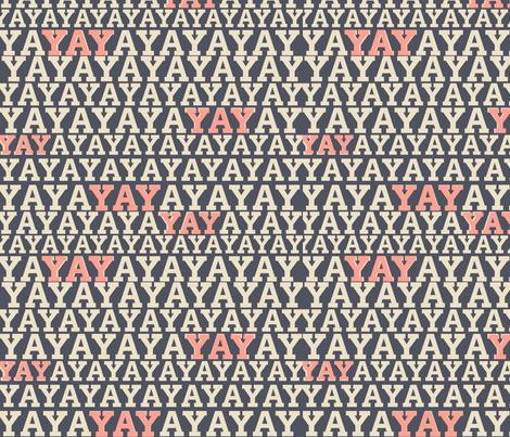 YAY fabric by kaoru_sanchez on Spoonflower - custom fabric