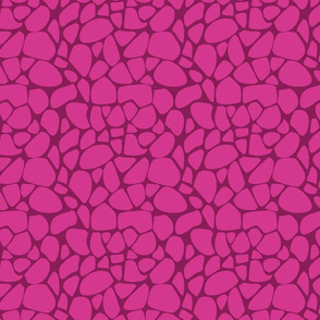 Pink giraffe animal print