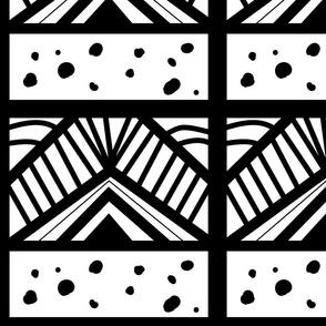 Neue Batik Black