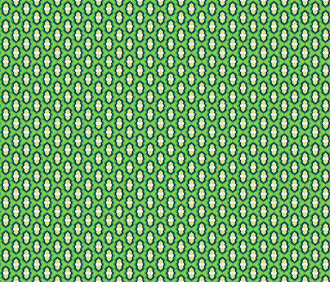 Mod_Curves_Turquoise_Coordinate 1 fabric by alchemiedesign on Spoonflower - custom fabric