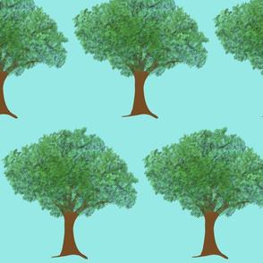 Danita's Trees, Colorized by Dean