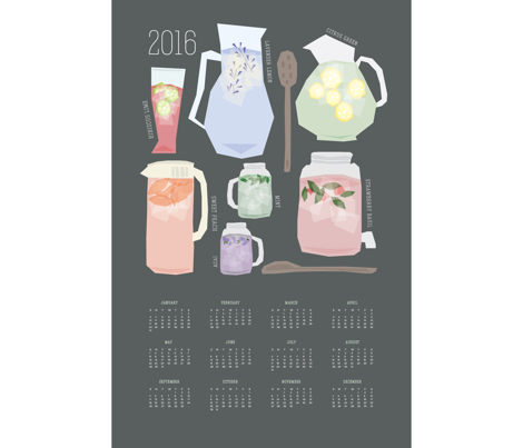 2016 [Iced] Tea Time Calendar
