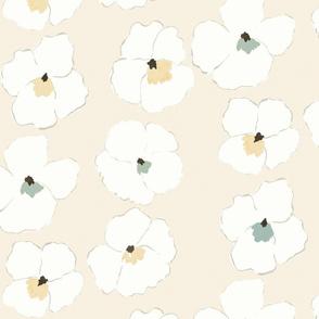 warhol garden -cream-