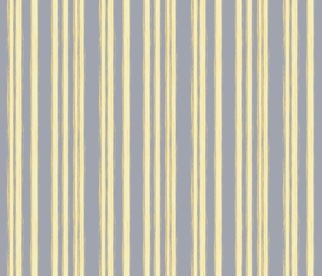 yellow stripes on gray fabric by sidig on Spoonflower - custom fabric