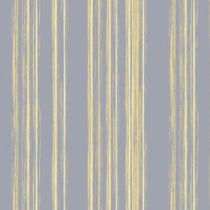 fine yellow stripes on gray