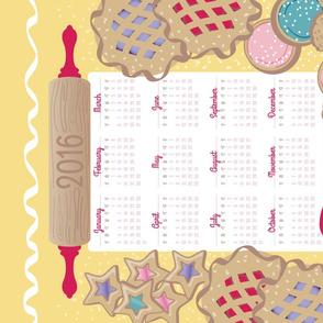 2016 Tea Towel - Bake it like you mean it!