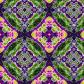 Leaf Roundel purple