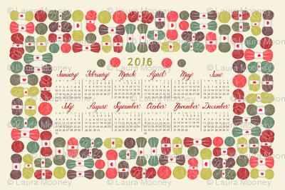 yarn lovers 2016 calendar