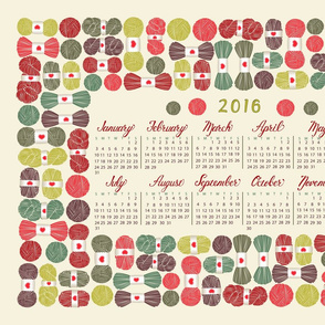 yarn lovers 2016 calendar