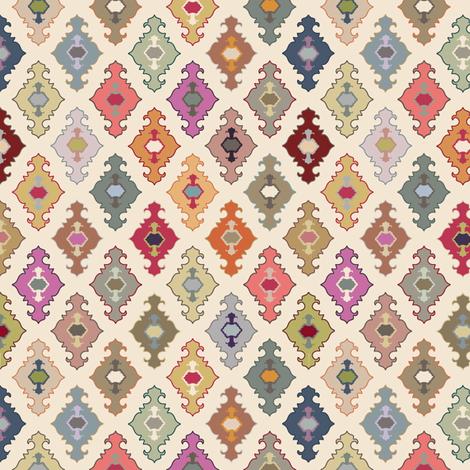lantern ogee fabric by keweenawchris on Spoonflower - custom fabric