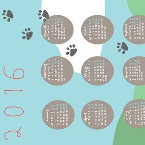 Paws Calendar