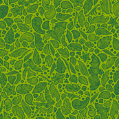 Paisley + Bats [green]