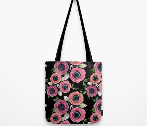 Watercolor Anemone Floral