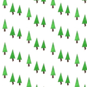 Pine Tree Holiday Gift Wrap